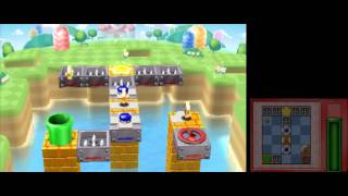 Mario and Donkey Kong: Minis on the Move - 100% Walkthrough - Marios Main Event Levels 21-30
