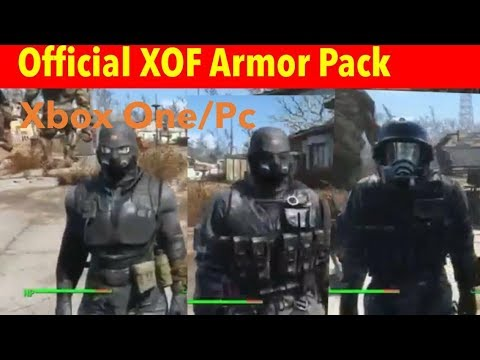 Fallout 4 Xbox One/PC Mods|Official XOF Armor Pack