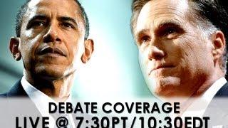 obama vs romney presidential debate 1