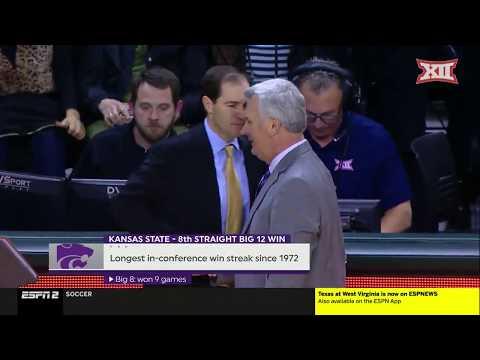 Kansas State Vs Baylor Men's Basketball Highlights