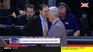Kansas State vs Baylor Men's Basketball Highlights
