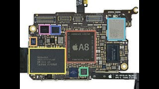 Apple iPod touch 6th disassembly разборка