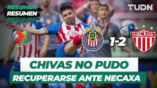Resumen y Goles Guadalajara 1 - 2 Necaxa | Liga Mx Apertura 2019   Jornada 6 | TUDN