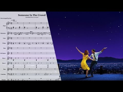Someone In The Crowd From La La Land (Instrumental Version With Downloadable Music Sheet)