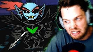 3D UNDYNE BATTLE Yet Another Bad Time Simulator Gameplay