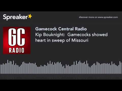 Kip Bouknight:  Gamecocks showed heart in sweep of Missouri