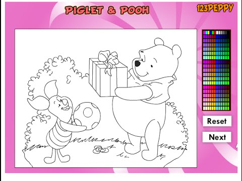Winnie The Pooh Coloring Pages Disney Online Coloring Pages For