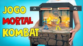 DIY Versão Real do Jogo Mortal Kombat ⚔️