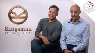"""Интервью с актёрами """"Kingsman: Золотое кольцо"""""""
