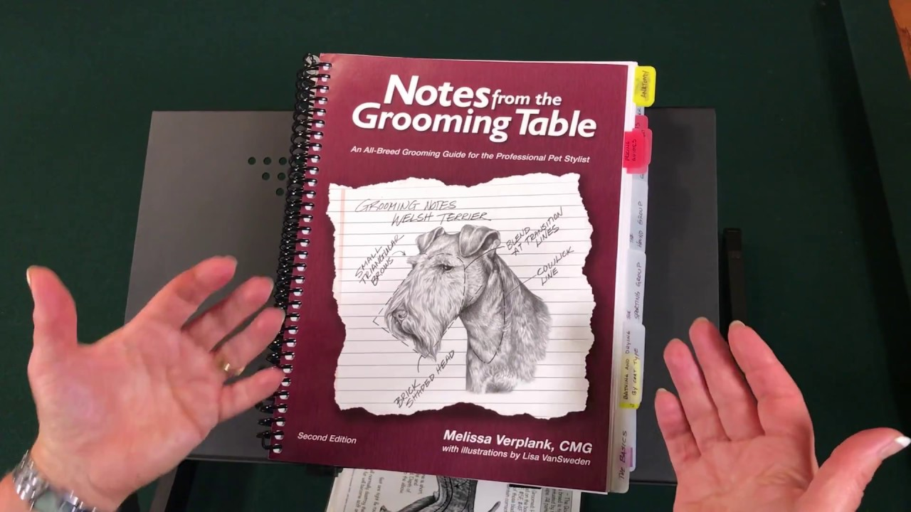 Grooming notes from table pdf the