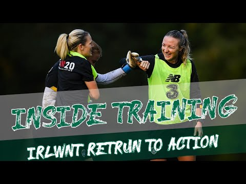 INSIDE TRAINING | #IRLWNT Return to Action