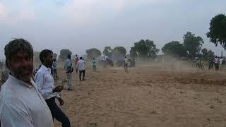 Sonalika DI- 750 III tractor try to stunt in kasni harrow competition