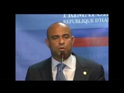 2eme pati Conference de presse du Premier Ministre SEM Laurent Salvador Lamothe
