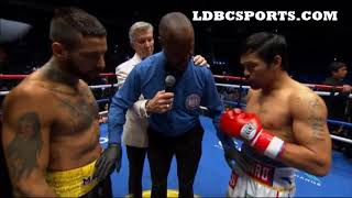 MANNY PACQUIAO PUTS LUCAS MATTYESSE TO SLEEP REVIEW NO FIGHT FOOTAGE