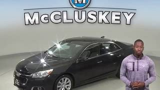 A99536GP Used 2015 Chevrolet Malibu Sedan Black Test Drive, Review, For Sale -