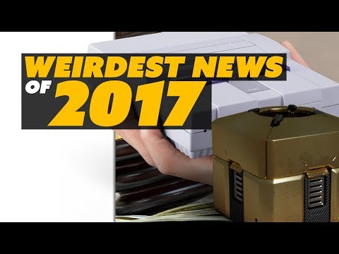 Meltdowns! Psychic Lawsuits! Lootboxes Hit the Stock Market! The CRAZIEST News of 2017 - The Know