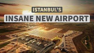 Gambar cover Istanbul's INSANE New Airport Has Opened