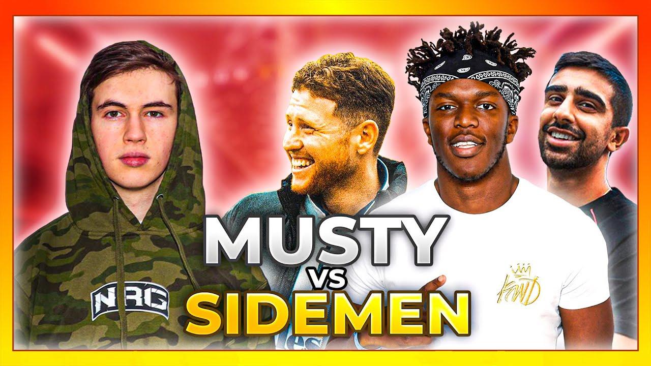 7 Sidemen vs 1 Supersonic Legend ($10,000 Rocket League Challenge)
