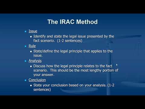 IRAC Explained