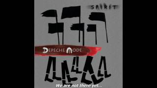 Depeche Mode - Going Backwards [Lyrics]
