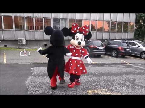 Elabika Mascot Costumes Mickey Mouse And Minnie Mouse  Funny-animal Cartoon Character Mascots