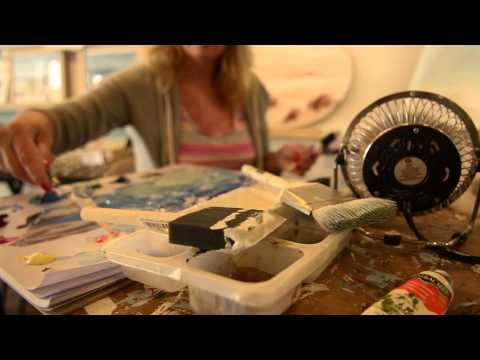 Beach Art – Tina O'Brien Documentary
