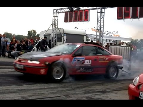 Opel Calibra Bimoto Turbo 1400 HP Vs. BMW E30 M3 Turbo