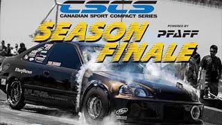 CSCS Drag Racing Season Finale 2018 -- [PRO & Super Street Classes]