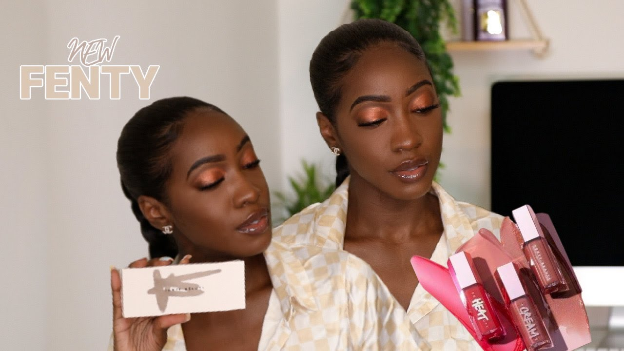 New Fenty Beauty Launches: Eyeshadow Palette & Lip Plumpers l Too Much Mouth