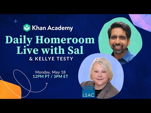 Homeroom Live with Sal & Kellye Testy - Monday, May 18