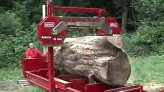 SERRA - big logs with the AFRICA SL 160