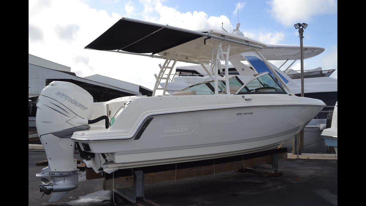 2018 Boston Whaler 230 Vantage For Sale at MarineMax Naples Yacht Center