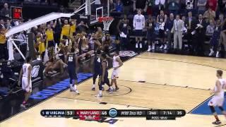 West Virginia vs. Maryland: Daxter Miles Jr. dunk