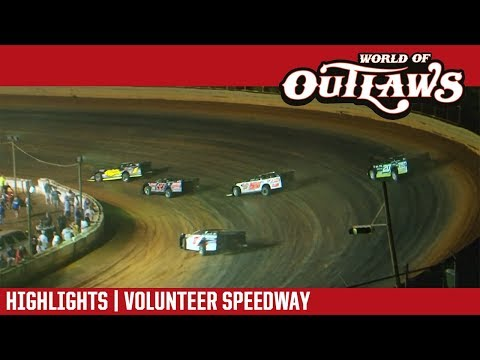 World of Outlaws Craftsman Late Models Volunteer Speedway June 2, 2018 | HIGHLIGHTS