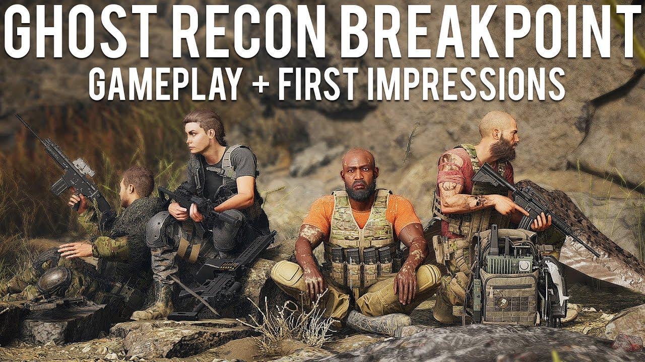 Ghost Recon Breakpoint Gameplay Erste Eindrücke + video