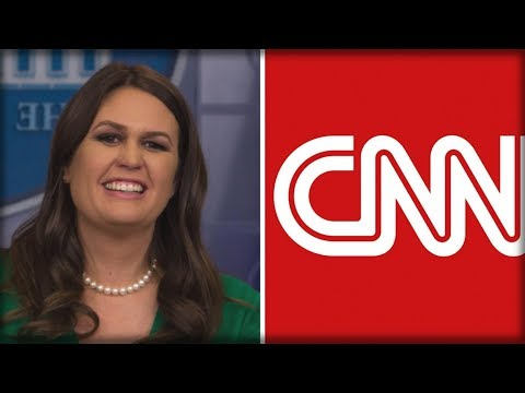 BREAKING: CNN DECIDED TO BOYCOTT WHITE HOUSE CHRISTMAS PARTY AND SARAH SANDERS' RESPONSE IS PERFECT