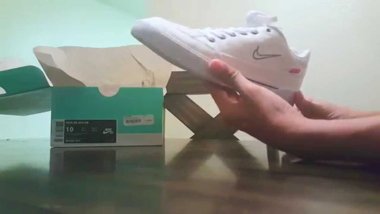 save off e9867 122ad Supreme X Nike Gts review - YouTube