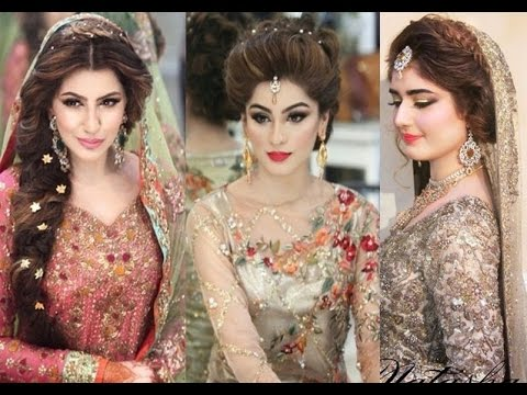 Curly Indian Wedding Hairstyle With Pouff For Rabia Hair Style 2017