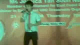 Shawn Singing Mo Re Zi Lian