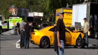 Transformers 3 BumbleBee Accident