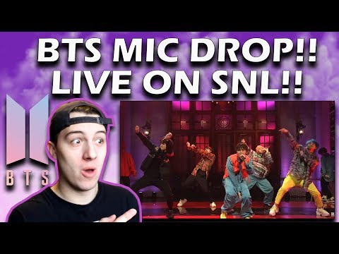 BTS: Mic Drop (Live) - SNL REACTION!