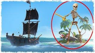 40 МИН НА БИТВУ С БОССОМ СКЕЛЕТОВ! ТАКИХ СЛОЖНЫХ БОССОВ Я ЕЩЕ НЕ ВИДЕЛ!!! SEA OF THIEVES!