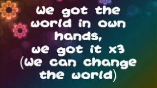 Bridget Mendler-We Can Change The World Lyrics