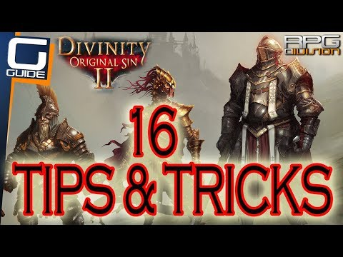 DIVINITY ORIGINAL SIN 2 - 16 Essential Tips for Beginners
