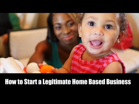How to Start a Legitimate Home Based Business Online