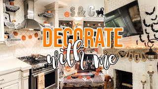 🍁*COZY* DECORATE WITH ME FOR HALLOWEEN 🍁