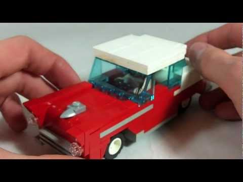 How To Build LEGO 1955 Chevy Bel Air Coupe