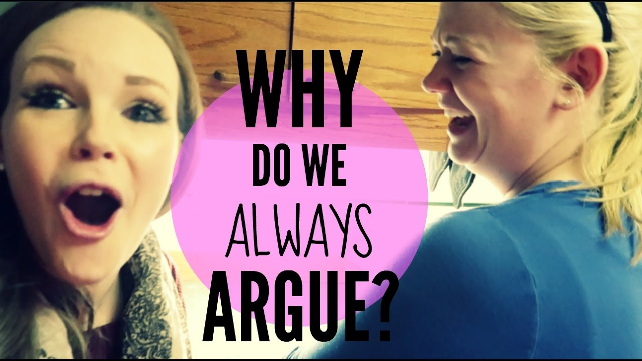 WHY DO WE ALWAYS ARGUE?!   Somers In Alaska Vlogs - YouTube
