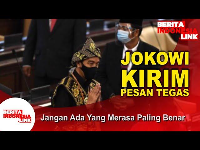 Jokowi Junjung Toleransi