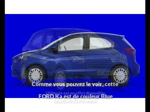 Ford Ka   Ti Vct Ch Ultimate A Mende Une Occasion Autotransac